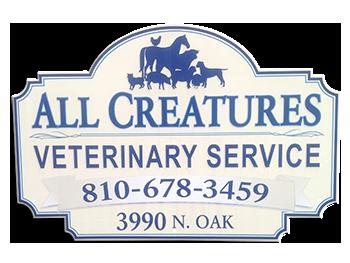 All Creatures Veterinary Services in Metamora Michigan